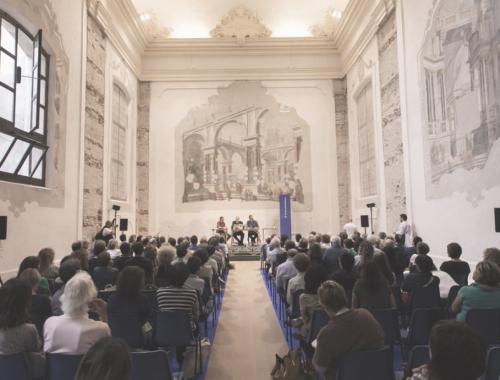 """Intervento di restauro della ex sala d'addottoramenti - Liceo Classico """"Virgilio"""""""