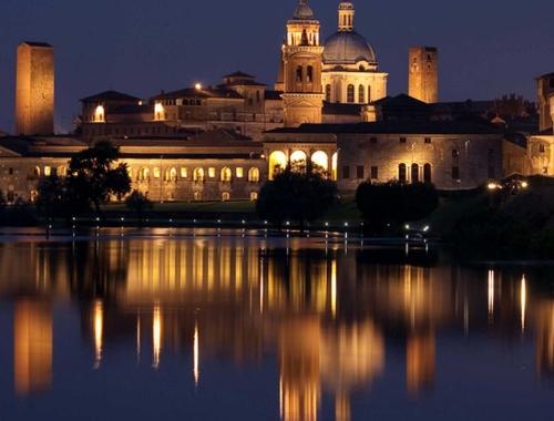 Illuminazione artistica centro storico e percorsi gonzagheschi