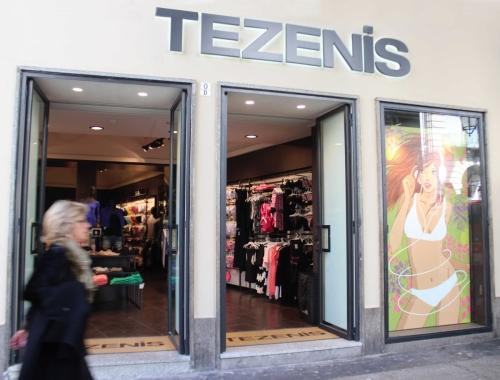 Manutenzione straordinaria del nuovo negozio Tezenis - Torino