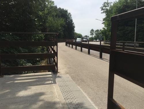Nuova pista ciclopedonale Mantova - Belfiore