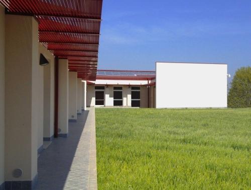 Nuova scuola dell'infanzia e primaria presso il polo scolastico in via della pace e via dello sport