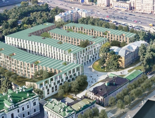 International Competition of the Multifunctional complex development on the Sofia Embankment