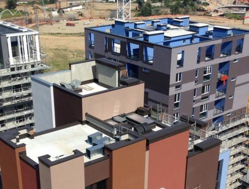 EXPO VILLAGE - Impianto per complesso residenziale di 400 alloggi
