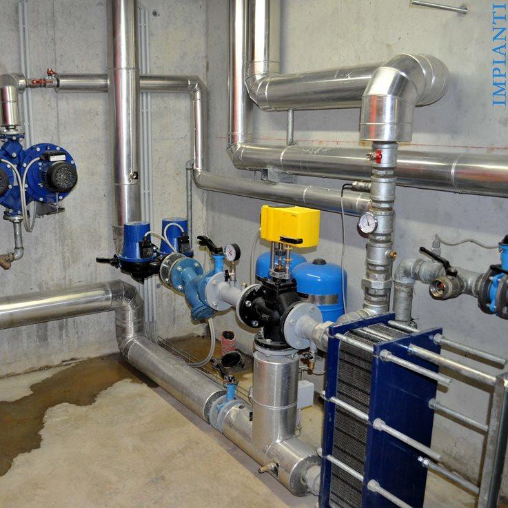 Impianto geotermico con pompa di calore for Impianto di riscaldamento con pompa di calore