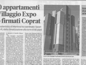 Coprat a Expo sulla Gazzetta di Mantova