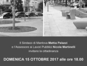 Inaugurazione di fine lavori di Viale Partigiani e Piazza Salvo D'Acquisto