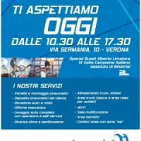 Inaugurazione della nuova sede di Verona di Lazzarini Pneuservice
